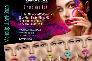 WORKSHOP MAKEUP COM FLÁVIA LEAL